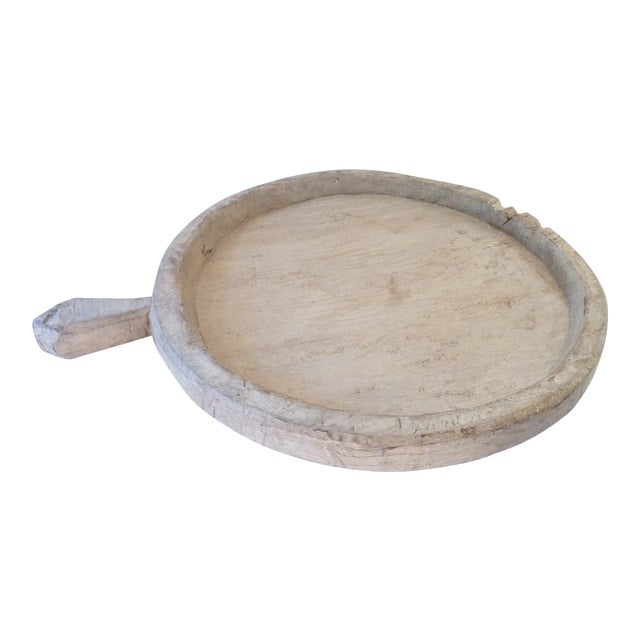 Rustic Wooden Olive Tray For Sale