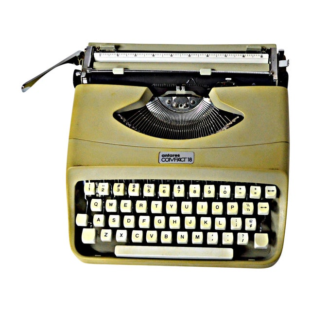 Italian Typewriter With Portable Case - Image 1 of 10