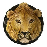 Image of Mid-Century Italian Hollywood Regency Lion Decorative Bowl/Catchall For Sale