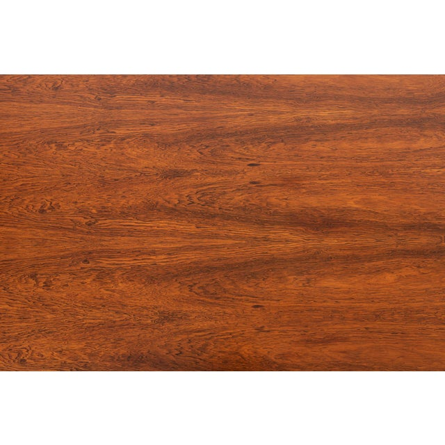 Milo Baughman Rosewood and Lucite Coffee Table For Sale - Image 9 of 10