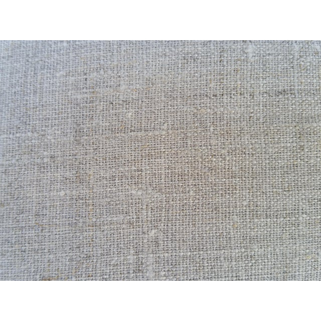 Faded Indigo Velvet Pillows - A Pair - Image 6 of 6