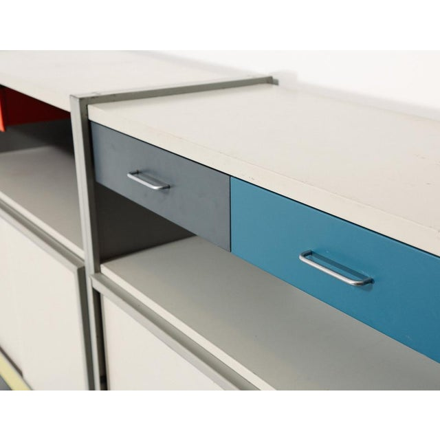 1960s Gispen 5600 Modular Storage System For Sale - Image 5 of 12