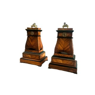 Regency Neoclassical Pedestals - a Pair For Sale