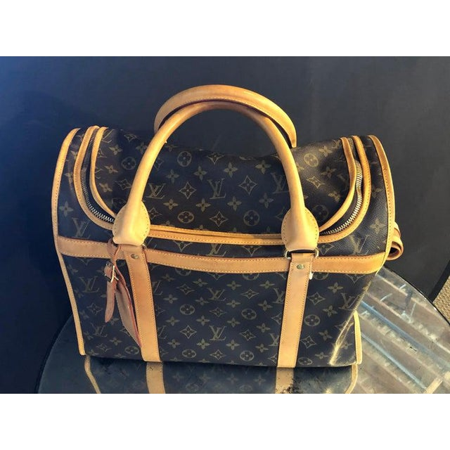 Louis Vuitton 40 Monogram Canvas Luggage Bag For Sale In New York - Image 6 of 12
