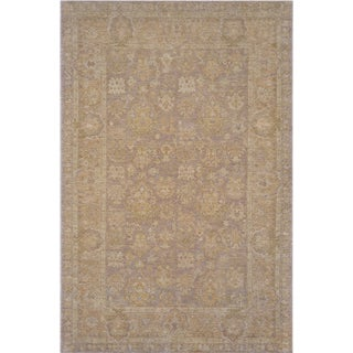 Mansour Superb Quality Handwoven Agra Rug - 6' X 9' For Sale