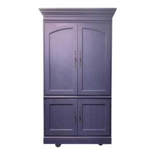 Armoire Bar Cabinet For Sale