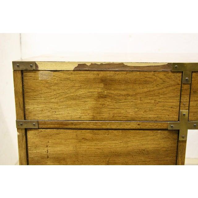 Bernhardt Campaign Partner Desk For Sale - Image 10 of 12