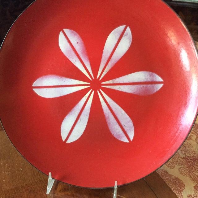 Catheineholm Red Lotus Plate - Image 4 of 5