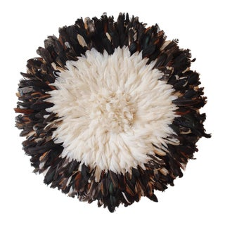 African Large Dark Coconut Juju Hat For Sale