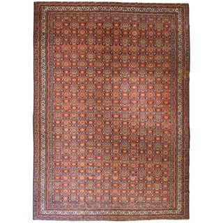 Exceptional Antique Oversize Persian Fereghan Carpet For Sale
