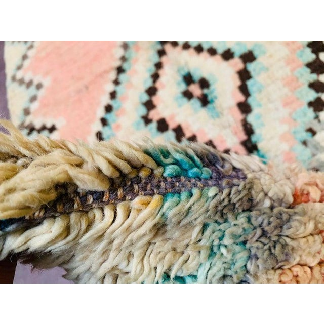 These vintage Beniourain rugs are probably the most comfortable vintage rugs you will ever come across. They are made from...