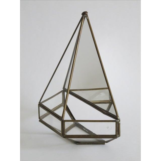 Mirrored Geometric Terrarium - Image 6 of 7