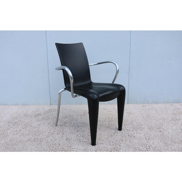 1997 Vintage Philippe Starck for Vitra Louis 20 Armchair For Sale - Image 13 of 13