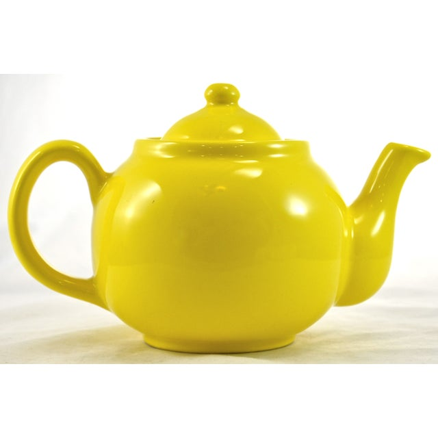 1950s Yellow Ball Teapot - Image 2 of 5