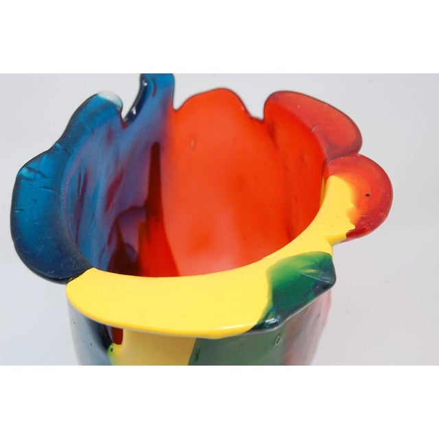 1980s Amazonia Series Vase by Gaetano Pesce For Sale - Image 5 of 9