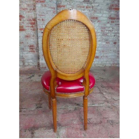 Louis XVI Seat Dining Chairs - Set of 8 For Sale - Image 4 of 10