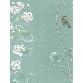 Casa Cosima Octavia Blue Wallpaper Mural - Sample For Sale