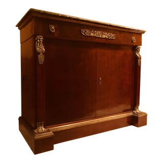 Antique Napoleon Empire Style Credenza