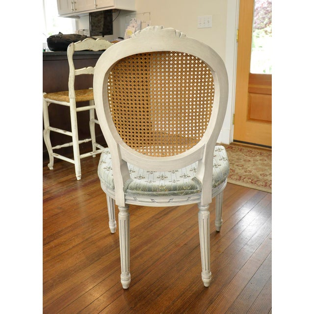 French Vintage Side Chairs - Set of 10 For Sale - Image 3 of 10
