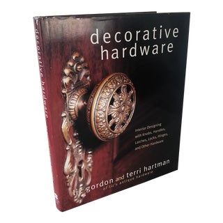 Decorative Hardware: Interior Designing With Knobs Book For Sale