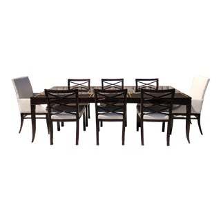 Council Furniture Macassar Ebony Dining Set