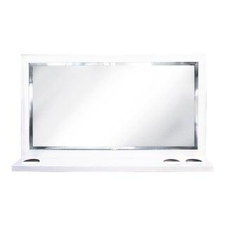 Custom Bathroom Vanity Mirror by Rehab Interiors For Sale