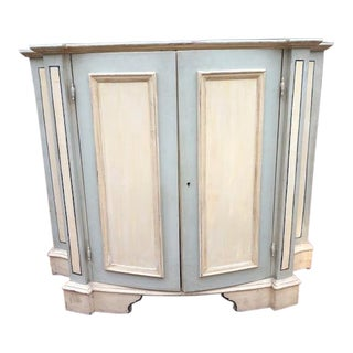 Italian Painted Credenza For Sale