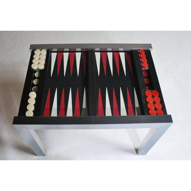 Paul Evans Directional Backgammon Game Table For Sale In Chicago - Image 6 of 11