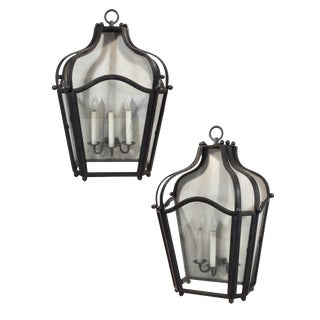 Oversized Iron Sconces For Sale