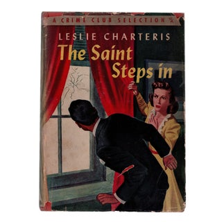 """1943 """"The Saint Steps In"""" Collectible Book For Sale"""