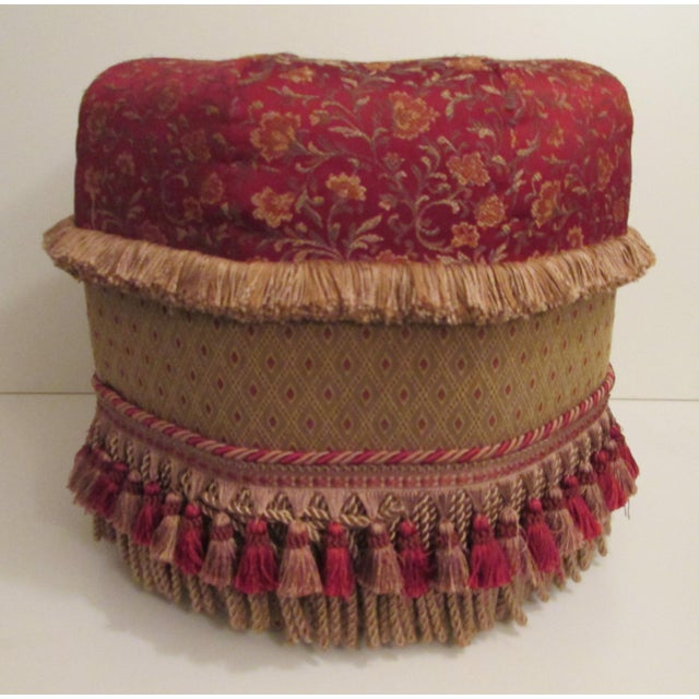 Custom Made Pouf For Sale In New York - Image 6 of 6