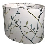 Image of Custom Heath & Co Racetrack Lampshade For Sale