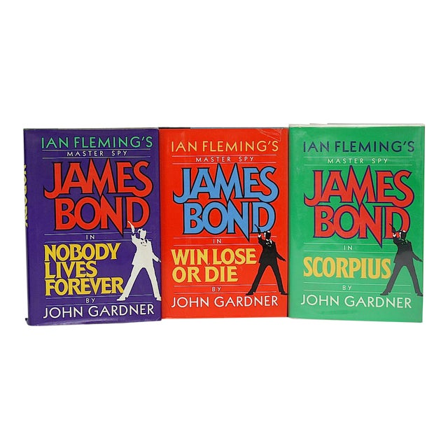 Vintage James Bond Book Collection - Set of 3 For Sale