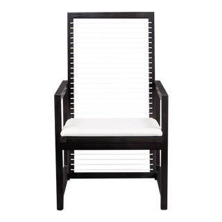 Vesta Ace Lounge Chair in Black For Sale