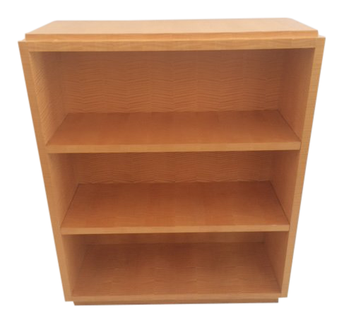 Contemporary home office angela todd Homegram Todd Hase George Junior Sycamore Bookcase Skender Construction Todd Hase Home Collection For Sale Chairish
