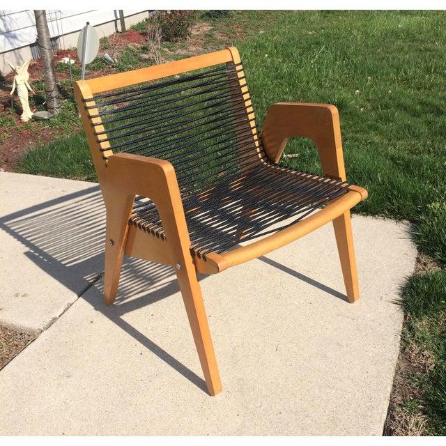Vintage Robert Kayton Cord Chair For Sale - Image 9 of 9