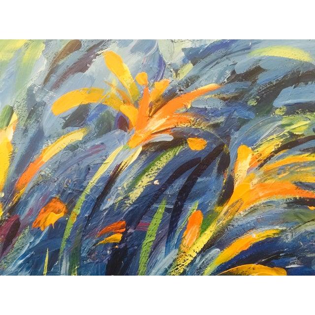 Original Expressionistic Impasto Painting - Image 5 of 8