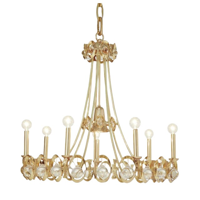 Global Views Modern Jewel Tangle Chandelier For Sale