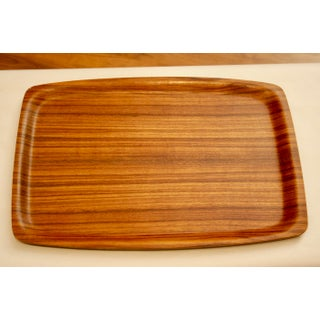 Japanese Mid-Century Modern Bent Ayous Plywood Tray Preview