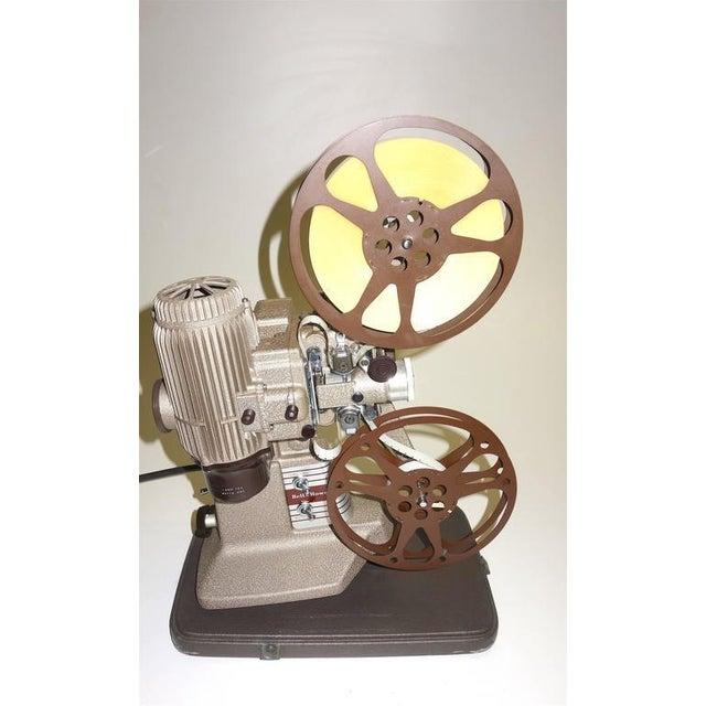 1950s 16mm Vintage Movie Projector Circa 1940. Rare Sculpture Piece For Media Room Display. For Sale - Image 5 of 8