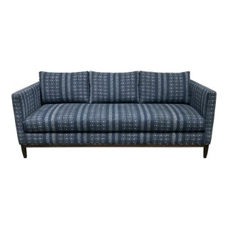 Lee Industries Theo Indigo #3583-03 Sofa For Sale