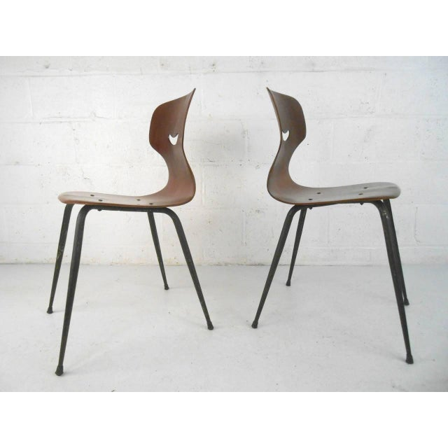 Adam Stegner for Pagholz Flötotto Sculpted Chairs - Set of 6 For Sale - Image 4 of 9