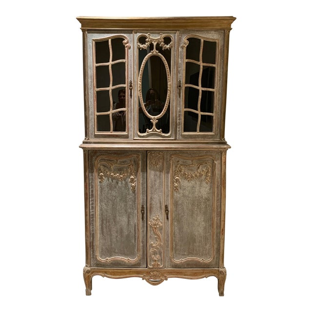 18th Century Antique French Cabinet For Sale