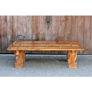 Handcrafted Bali Teak Table Preview