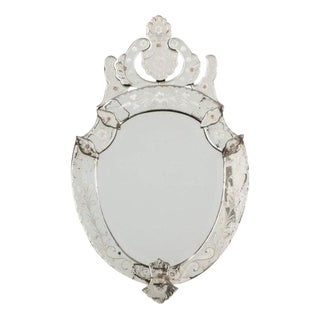 Late 19th Century Venetian Wall Mirror For Sale