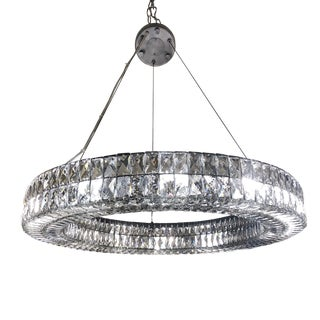 Restoration Hardware Spiridon Ring Chandelier For Sale