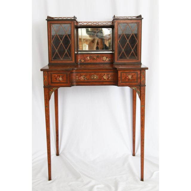 19th Century Federal Hand-Painted Secretary Desk For Sale - Image 12 of 12