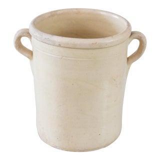 Large Antique Italian Confit Pot For Sale
