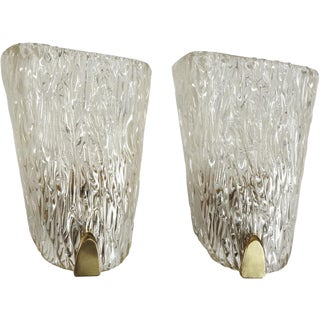 Belgian Crystal Sconces For Sale