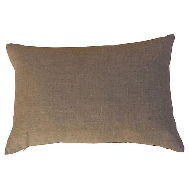 Schumacher La Menagerie Woven Pillows - Pair - Image 4 of 6